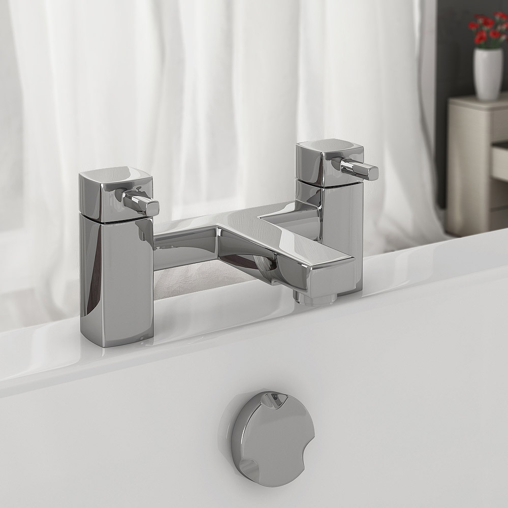 Neo Minimalist Bath Filler - Chrome Profile Large Image