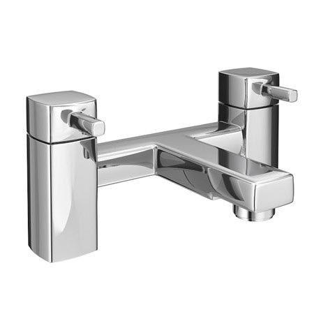 Neo Minimalist Bath Filler - Chrome
