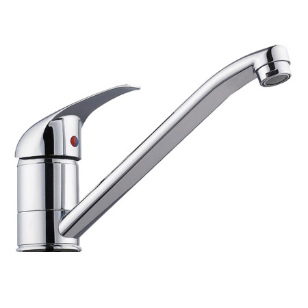 Neptune Single Lever Kitchen Sink Mixer Tap with Swivel Spout Large Image