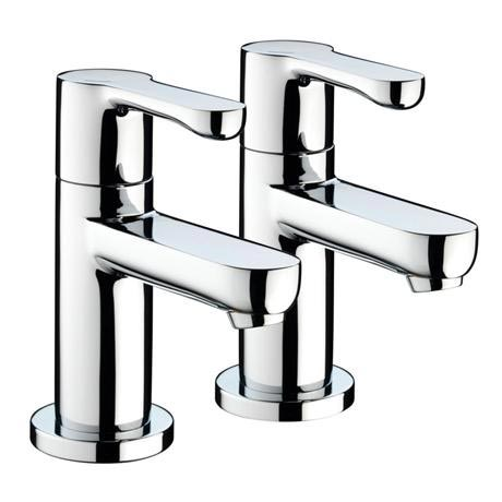 Bristan - Nero Basin Taps - Chrome - NR-1/2-C