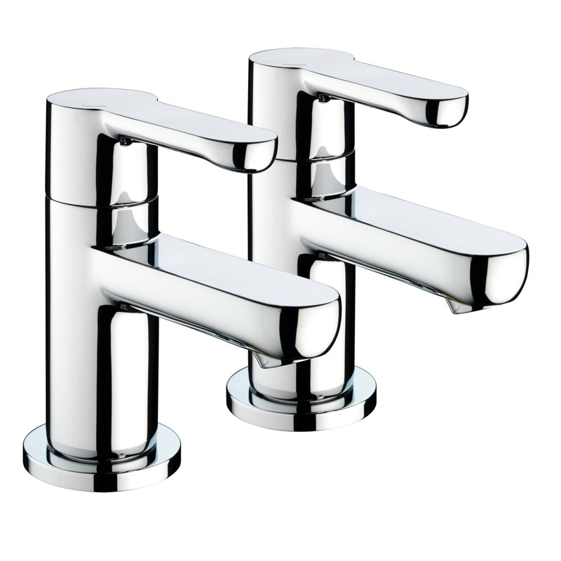 Bristan - Nero Bath Taps - Chrome - NR-3/4-C Large Image