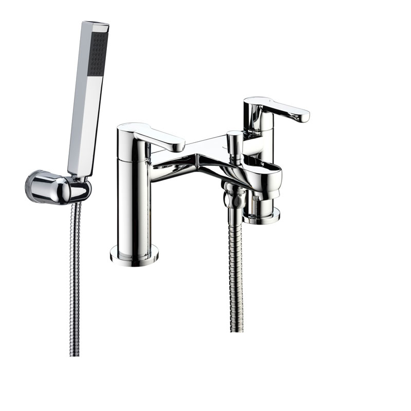 Bristan - Nero Bath Shower Mixer - Chrome - NR-BSM-C Large Image