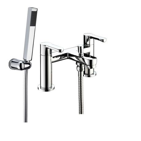 Bristan - Nero Bath Shower Mixer - Chrome - NR-BSM-C