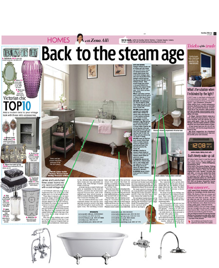 Victorian Plumbing, As Seen in The Sunday Mirror