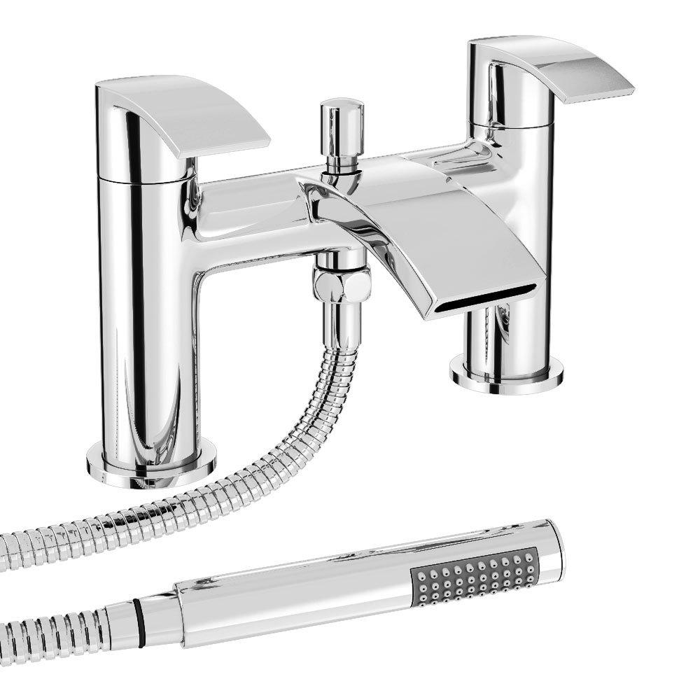 Nexus Bath Shower Mixer Tap + Shower Kit profile large image view 1