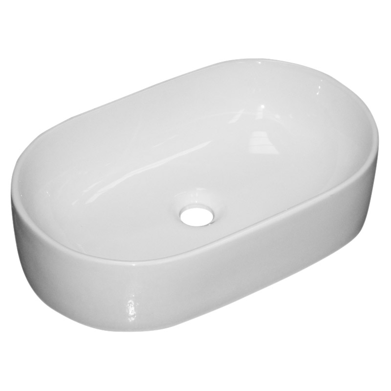 Nouvelle Counter Top Basin 0TH - 510 x 320mm profile large image view 2