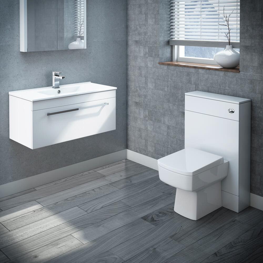 Nova Wall Hung Vanity Unit Suite