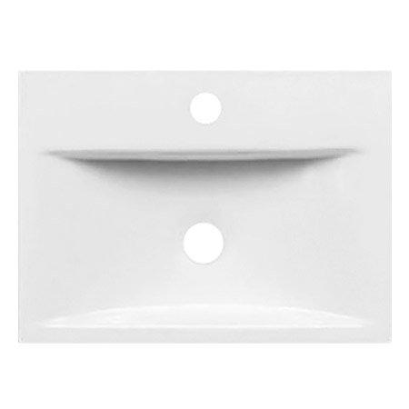 Nova Small Cloakroom Suite - Gloss White Standard Large Image