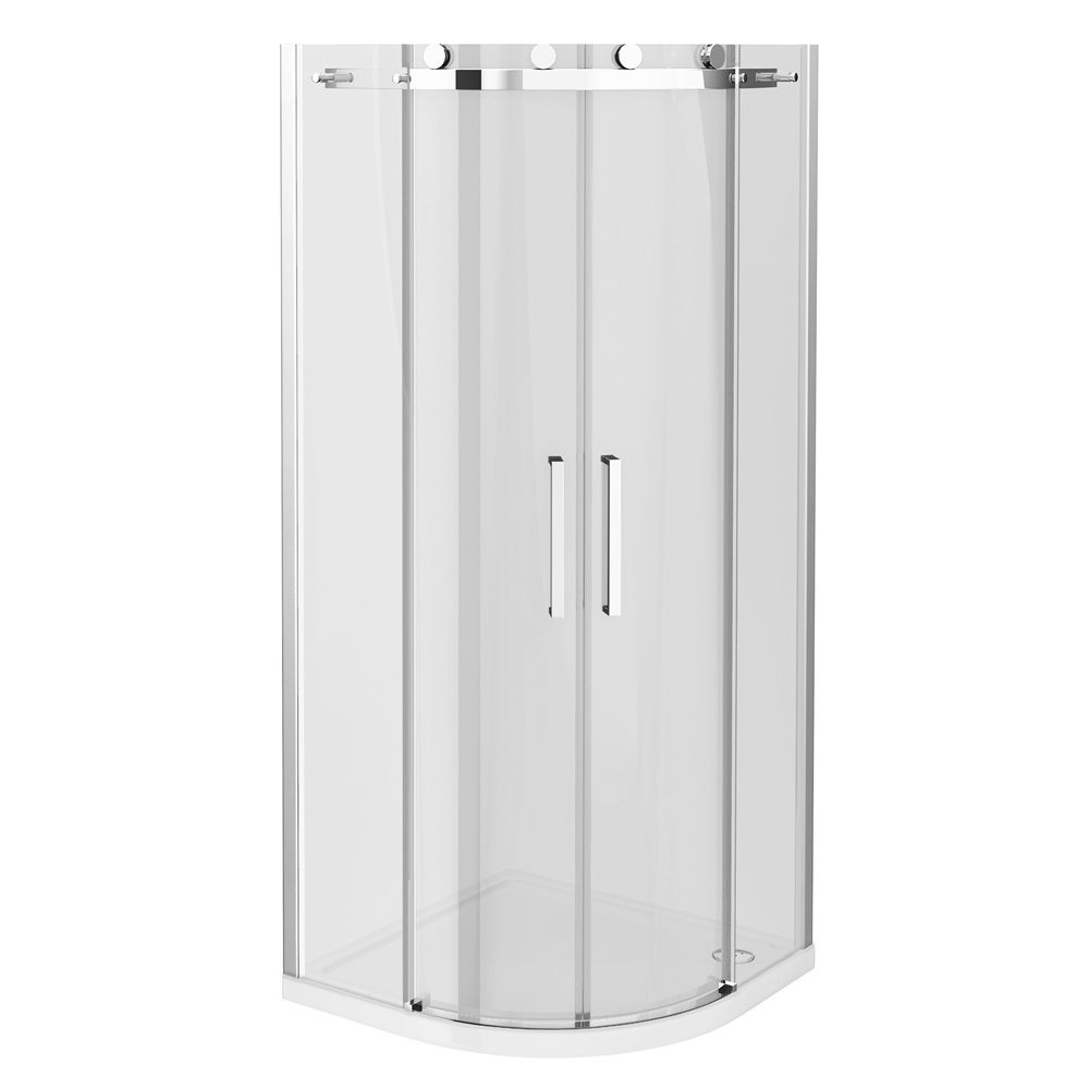 Nova Frameless Quadrant Shower Enclosure profile large image view 2