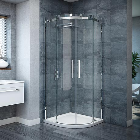 Nova Frameless Quadrant Shower Enclosure