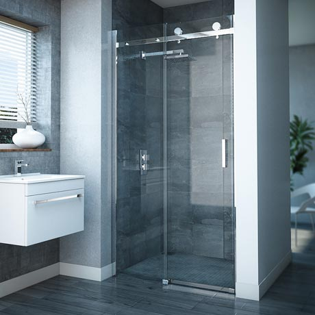 Nova Frameless Sliding Shower Door