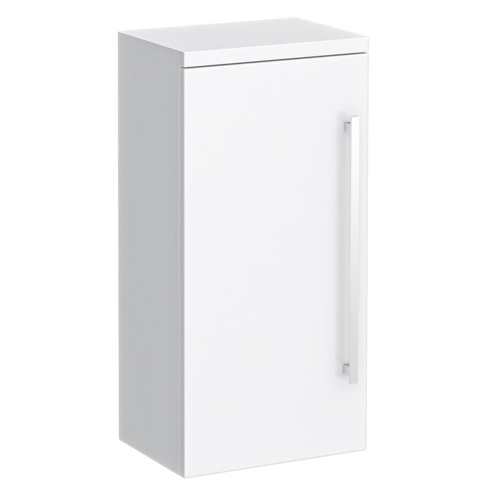 Nova High Gloss White Wall Mounted Cupboard W350 X D250mm