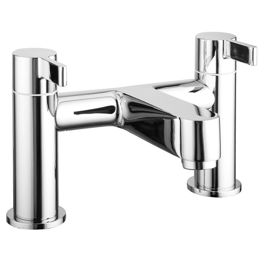 Nova Modern Bath Taps - Chrome Large Image