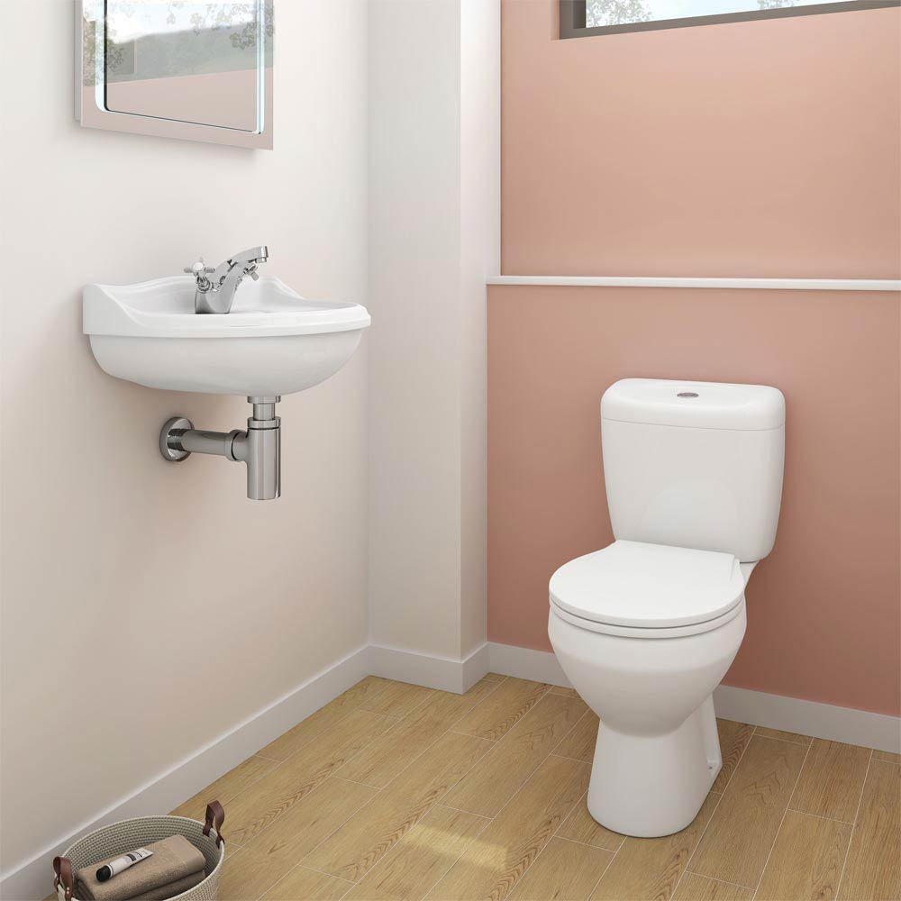 Novad Ceramic Cloakroom Suite Large Image
