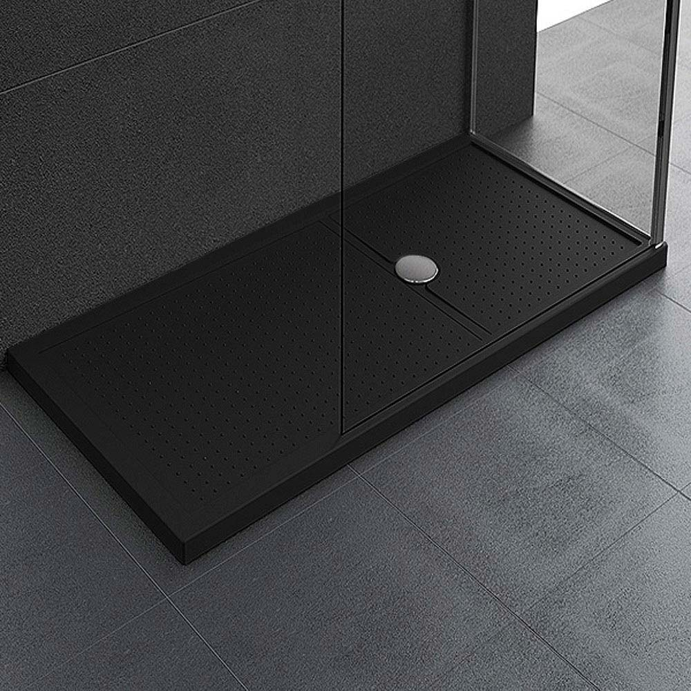 Novellini Olympic 45mm Methacrylate Shower Tray Black At