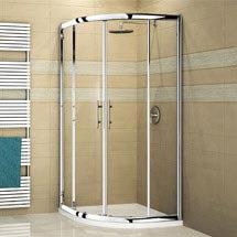Novellini Vision R 80 Quadrant Shower Enclosure - VISIONR80 Medium Image