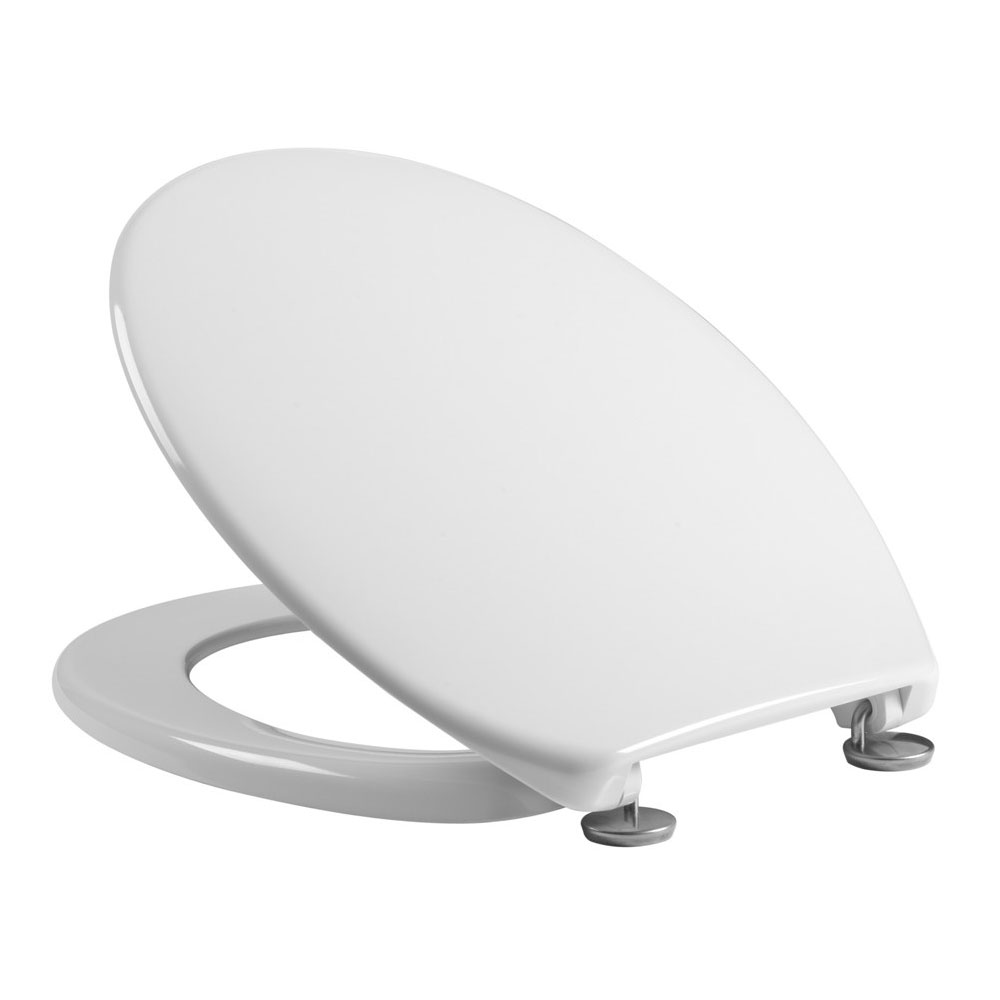 Tavistock Aspire White Thermoset Toilet Seat Large Image