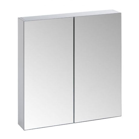Tavistock Observe Double Door Mirror Cabinet - Gloss White