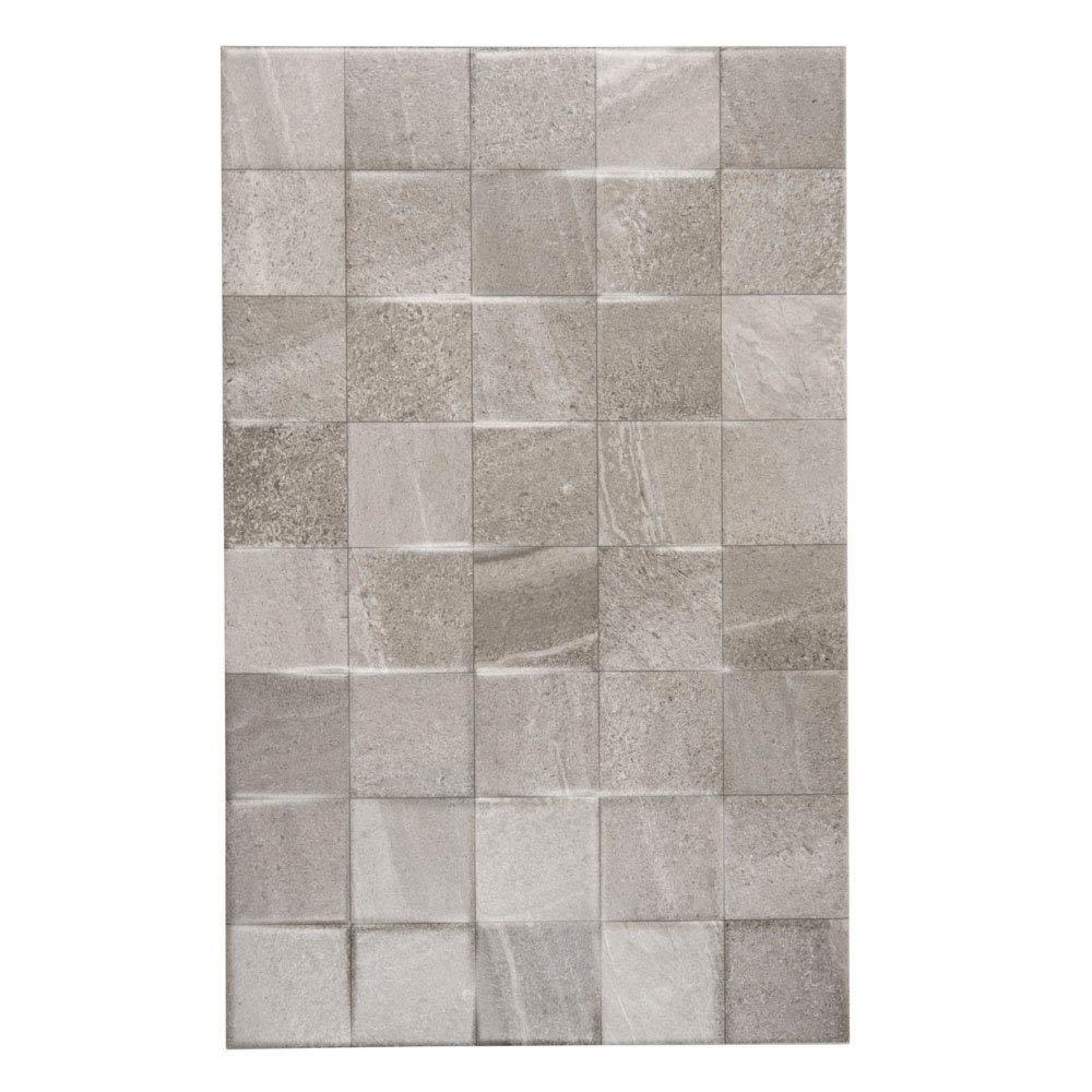 Oceania Stone Grey Mosaic Wall Tiles Large Image