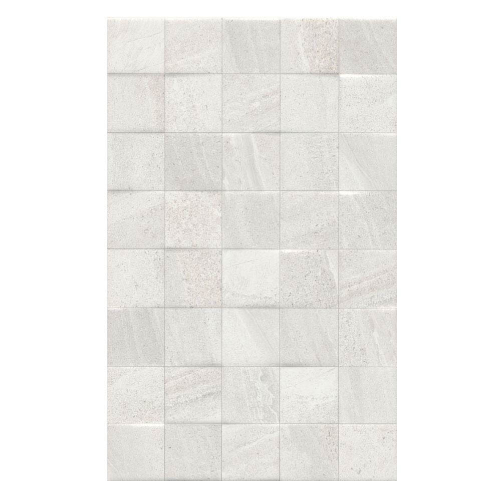 Oceania Stone White Mosaic Wall Tiles Large Image