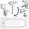 Oxford Complete Traditional Bathroom Package profile small image view 1