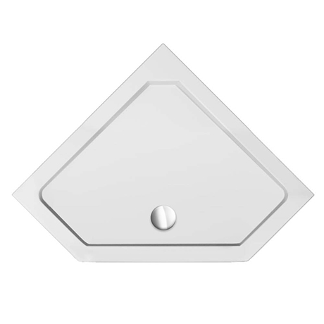 1100 x 1100 Diamond Shaped Shower Tray
