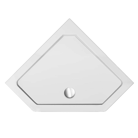 800 x 800 Diamond Shaped Shower Tray