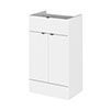 Hudson Reed 500x355mm Gloss White Full Depth Drawer Line Unit profile small image view 1