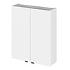 Hudson Reed 500x182mm Gloss White Fitted Wall Unit profile small image view 1