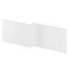 Hudson Reed Gloss White 1700 Square Shower Bath Front Panel - OFF173 profile small image view 1