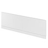 Hudson Reed Gloss White 1700 Front Straight Bath Panel - OFF177 Small Image