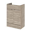 Hudson Reed 600x355mm Driftwood Full Depth Vanity Unit profile small image view 1