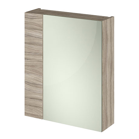 Hudson Reed 600mm Driftwood 75/25 Mirror Unit