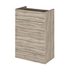Hudson Reed 600x355mm Driftwood Full Depth WC Unit profile small image view 1