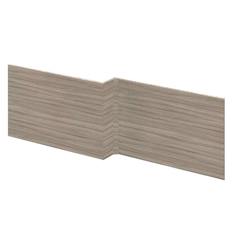 Hudson Reed Driftwood 1700 Square Shower Bath Front Panel - OFF273