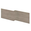 Hudson Reed Driftwood 1700 Square Shower Bath Front Panel - OFF273 profile small image view 1