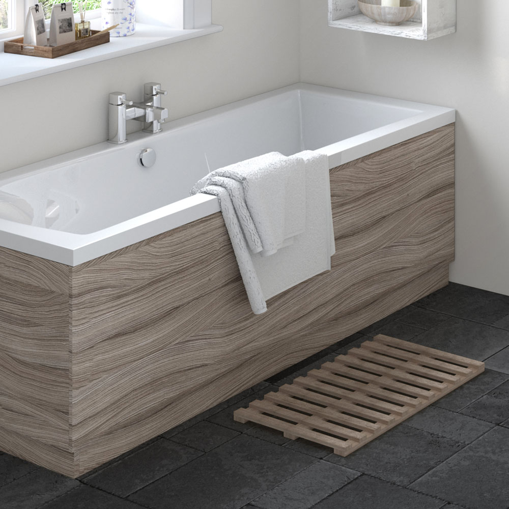 Hudson Reed Driftwood 1700 Front Straight Bath Panel - OFF277