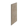 Hudson Reed 370mm Driftwood Decorative End Panel profile small image view 1