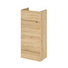 Hudson Reed 400x255mm Natural Oak Compact Vanity Unit Medium Image