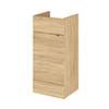 Hudson Reed 400x355mm Natural Oak Full Depth Vanity Unit Small Image