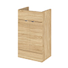 Hudson Reed 500x355mm Natural Oak Full Depth Vanity Unit Medium Image