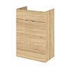 Hudson Reed 600x355mm Natural Oak Full Depth Vanity Unit Medium Image