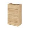 Hudson Reed 500x355mm Natural Oak Full Depth WC Unit Small Image