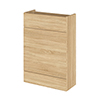 Hudson Reed 600x255mm Natural Oak Compact WC Unit Medium Image