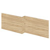 Hudson Reed Natural Oak 1700 Square Shower Bath Front Panel - OFF373 Small Image