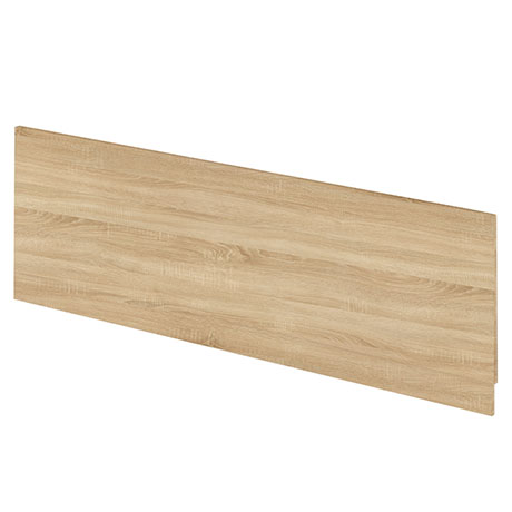 Hudson Reed Natural Oak 1700 Front Straight Bath Panel - OFF377