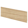 Hudson Reed Natural Oak 1700 Front Straight Bath Panel - OFF377 Small Image