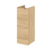 Hudson Reed 300x355mm Natural Oak Full Depth Base Unit Medium Image