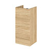 Hudson Reed 400x355mm Natural Oak Full Depth Base Unit Medium Image