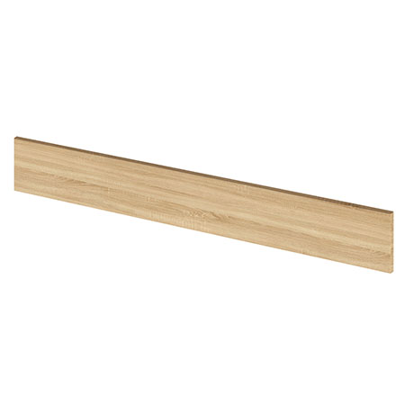Hudson Reed 1250mm Wide Natural Oak Plinth - OFF391